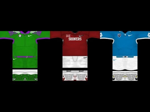 ROBLOX Paragon23 Football Uniform Showoff Tutorial