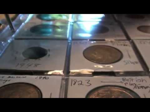 Great Britain World Coin Collection Part 1 - Numismatic Video - Numismatics with Kenny