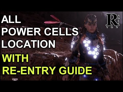 Horizon Zero Dawn - All Power Cells Location guide (Ancient Armory Quest)