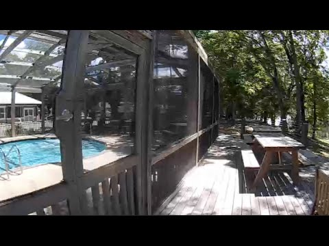 RV Park Tour of Live Oak Landing in Freeport  Florida