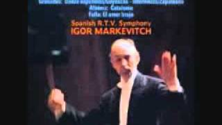 マルケヴィチ指揮・狂詩曲「スペイン」 0001