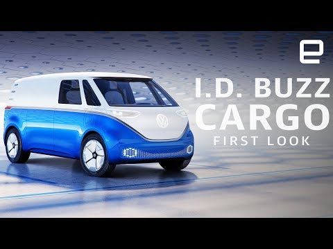 Volkswagen I.D. Buzz Cargo First Look: An EV delivery van