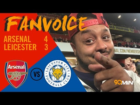 Arsenal 4-3 Leicester | Giroud scores late Arsenal winner in seven goal thriller! 90min FanVoice