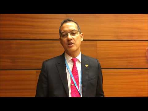 Nikolas Steele, Hon. Minister of Health Grenada, Vice Chair for Committee A, WHA