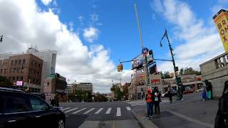 ⁴ᴷ⁶⁰ Cycling the Grand Concourse, Bronx from 149th Street to Mosholu Parkway