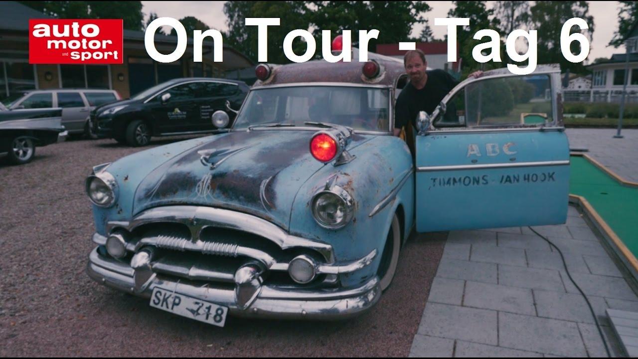 ON TOUR: Schweden - Tag 6 | auto motor und sport