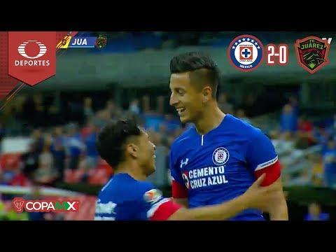 Resumen | Cruz Azul 2 - 0 Juárez  | Copa Mx - Cuartos | Televisa Deportes