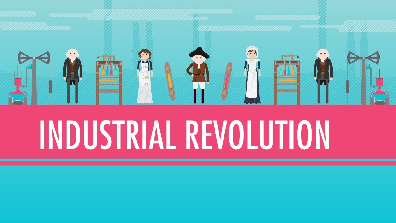 Coal Steam and The Industrial Revolution Crash Course