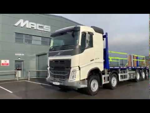 Volvo (2020) FH460 8 x 2 Rigid Low Profile Beavertail