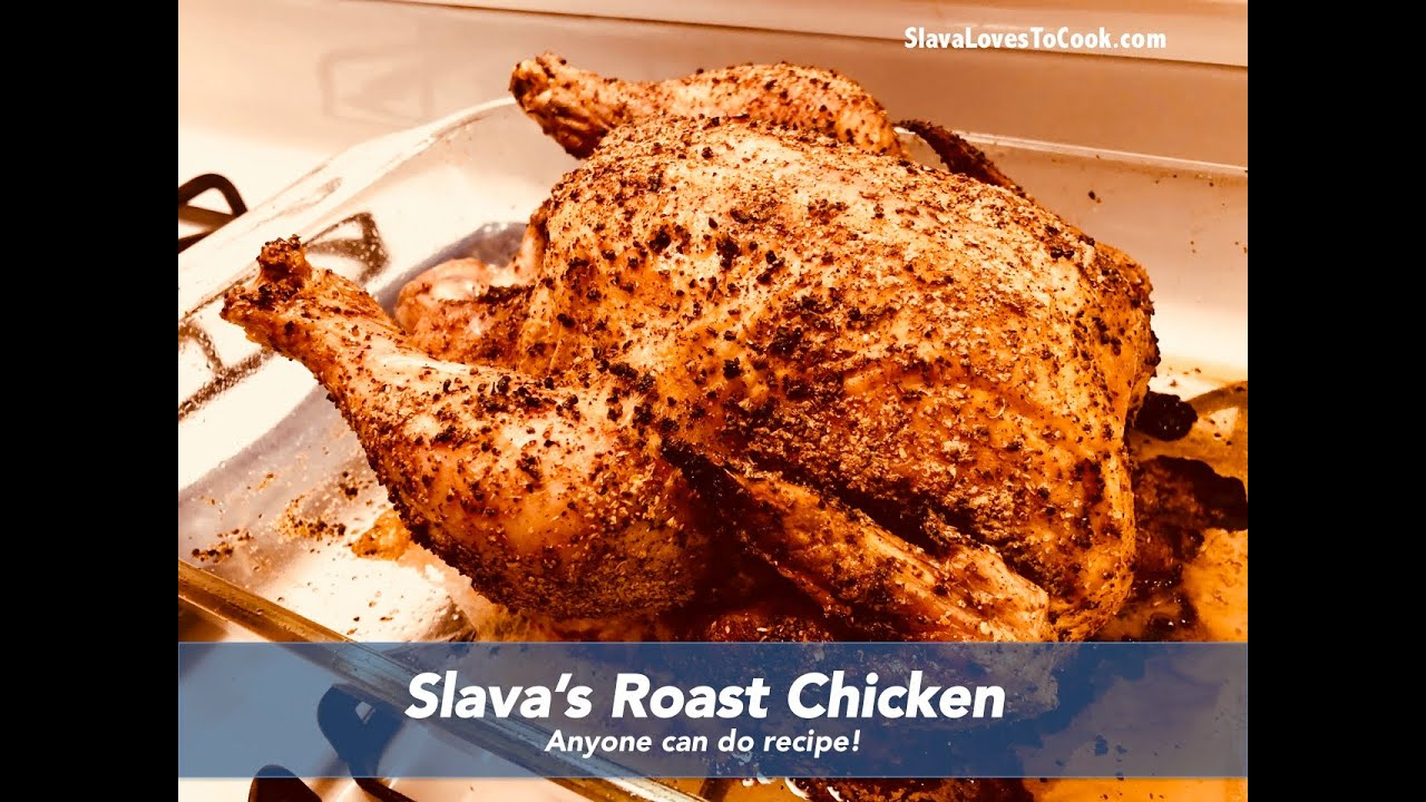 Two-Temperature Roast Chicken - YouTube