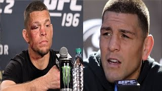 Nate Diaz - I'm not 100% vegan, Nick is my leader without him I will be in trouble