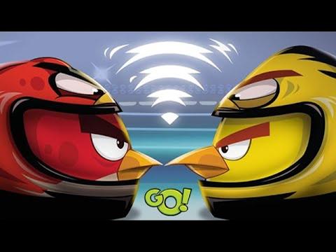 Злые птички Angry Birds настольная игра для детей  Action game for children