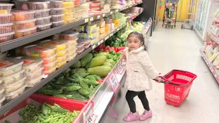 Cute Kids- Let's go shopping with Baby kids Sahej & Anjali Being JiJi Kids
