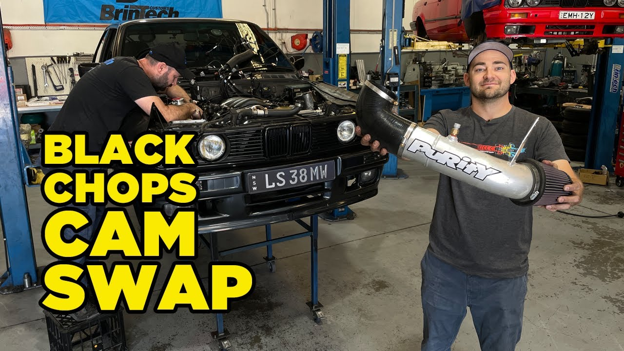 Our V8 BMW E30 is BACK with MORE POWER