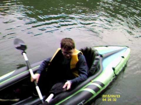 1st Use Of Intex Challenger K2 Inflatable Kayak