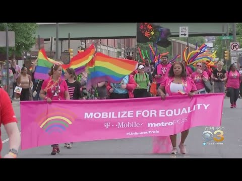 Philadelphia Continues Celebration Of Pride Month With Parade And Festival