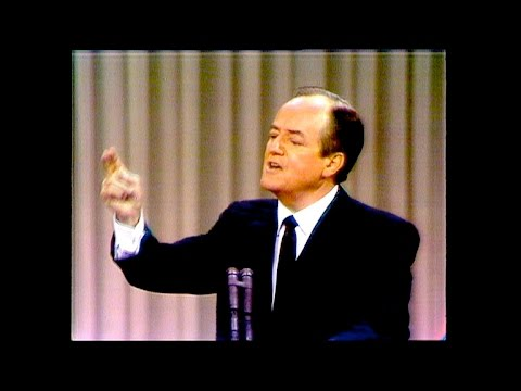 Hubert Humphrey addressed delegates at the 1968 DNC