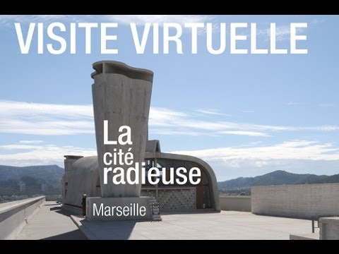visite virtuelle la cit radieuse de marseille youtube. Black Bedroom Furniture Sets. Home Design Ideas