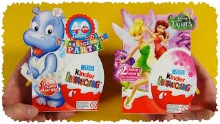 Kinder Surprise - Rainbow Edition ^_^ [Disney Fairies & 40 Years Anniversary] (Kinder Überraschung)
