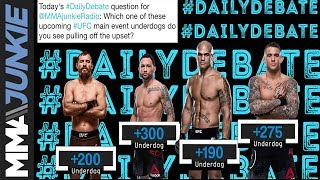 Daily Debate: Which one of these underdogs do you see pulling off the upset?