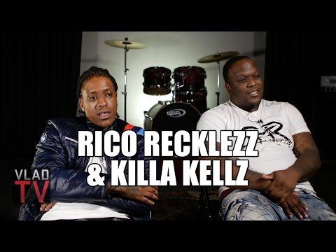 Rico Recklezz & Killa Kellz on Larry Hoover, Jeff Fort, David Barksdale