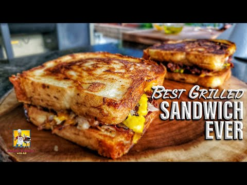 The Best Grilled Sandwich Ever!!! | Blaze Griddle