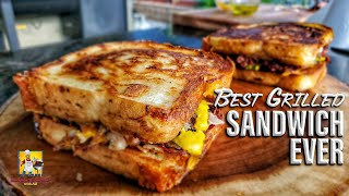 The Best Grilled Sandwich Ever!!! | Blaze Griddle