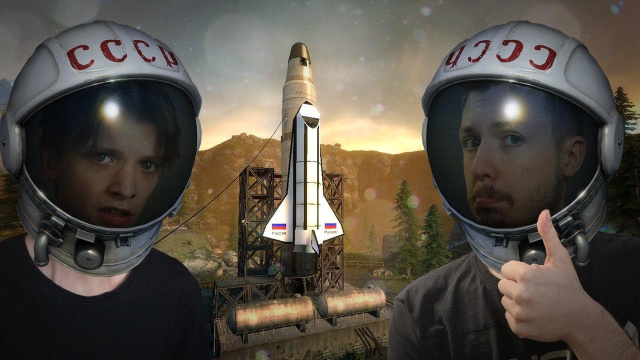 DŁUGA podróż kosmonautów! (Garry's Mod Sandbox)