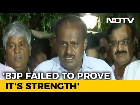 Kumaraswamy Stakes Claim To Form Government, Swearing In On Monday
