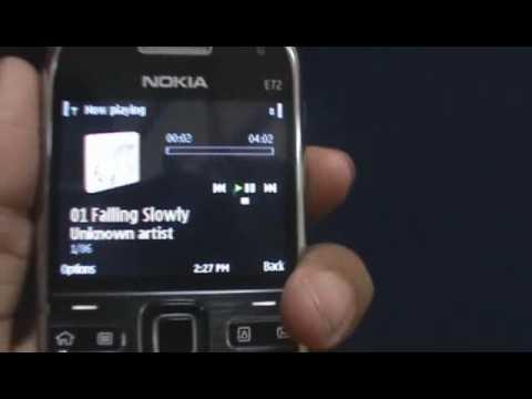 Music on the Nokia E72