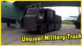 Very Unusual and Strange Military Vehicle Review 2018. Crazy Looking Military Truck 2018