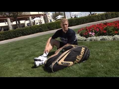Wilson Tennis- Dmitry Tursunov's Bag Check Uncut