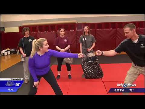 Spokane County Sheriff's Office offers women the chance to learn self defense from the experts