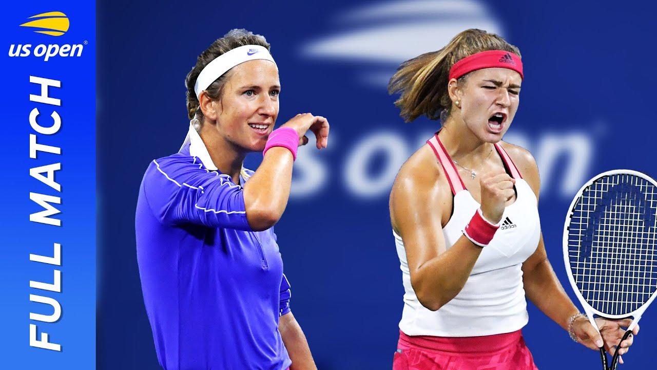 Victoria Azarenka vs Karolina Muchova in a dramatic three-set battle!   US Open 2020 Round 4