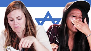 Americans Try Israeli Snacks