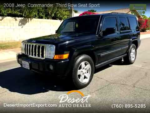 Amazing 2008 Jeep Commander Third Row Seat   Desert Auto Dealer