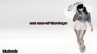 Katy Perry - One Of The Boys Karaoke/Instrumental thumbnail