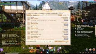 ArcheAge - Mise à jour 2.0 - Changement de l'interface de guilde