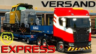 Euro Truck Simulator 2 Schwerlast #4 [1/2] - Extremer Express Versand - Daniel Gaming - ETS 2 DLC