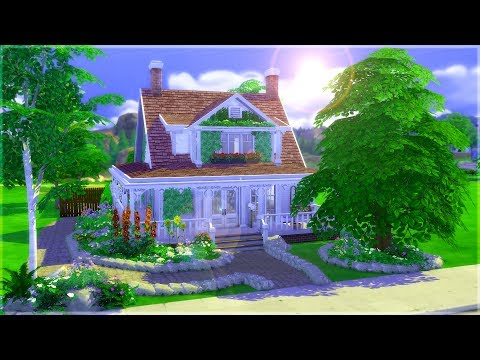 The Sims 4: Parenthood || House Build || Grandparent's House #DesignAndDecorate