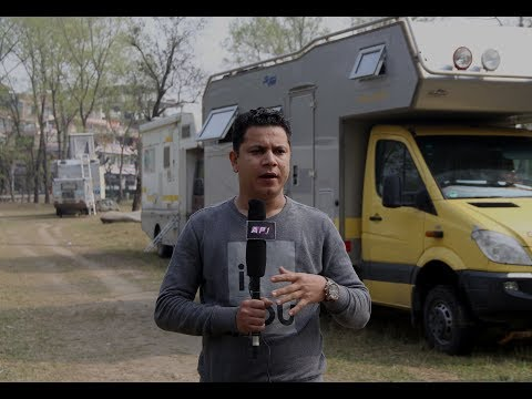 Motor Home Tourism in Pokhara,Nepal/मोटर होम टुरिजम नेपालमा TV REPORT BY SUMAN DHUNGANA
