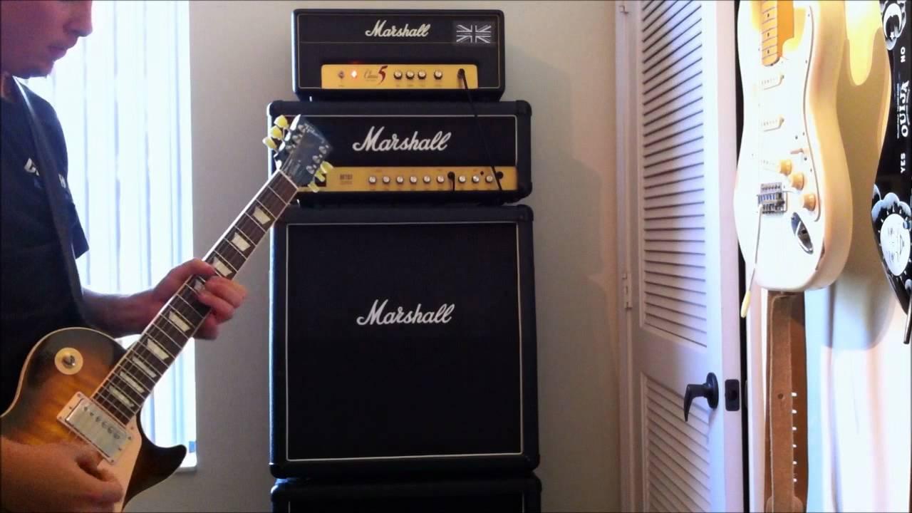 Marshall Class 5 Head w/Keeley SD-1 - YouTube