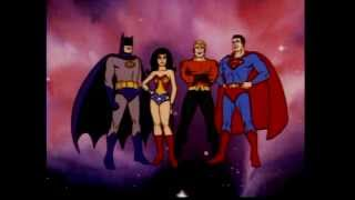 SUPERFRIENDS - Opening Theme Songs (1973-1985) HQ