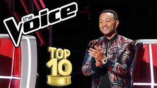 Top 10 Best Male Blind Auditions Ever!  The Voice USA!