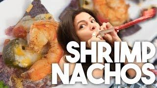 SHRIMP NACHOS  New Years Eve Special  Kravings