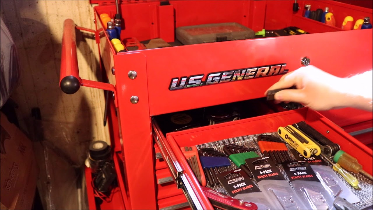 Harbor Freight Us General Tool Box Hack Youtube
