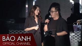 Họp báo ra mắt MV In The Night - Bảo Anh, Hữu Vi