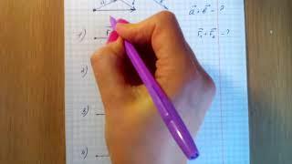 Векторные величины Сложение векторов