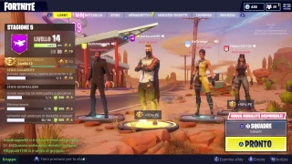 Let's truff up the crooks in live -contest V Bucks- Fortnite saves world