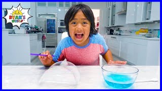 Easy DIY Science Experiment for kids with Bubbles!!!